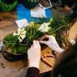 Blumendekoration Tischdekoration Handarbeit