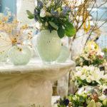 Blumenvase Blumenstrauss Pastelltöne