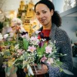Blumenstrauss Kundin