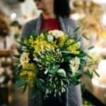 Blumenstrauss weiss gelb