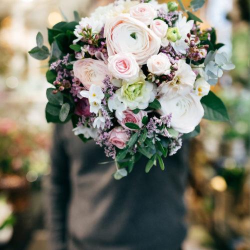 Blumengeschenk Blumenstrauss frontal