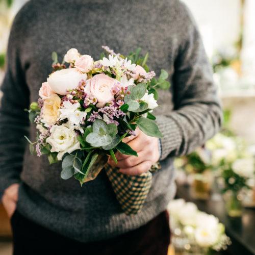 Blumengeschenk Blumenstrauss