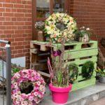 Blumenkranz Beerdigung Trauergast