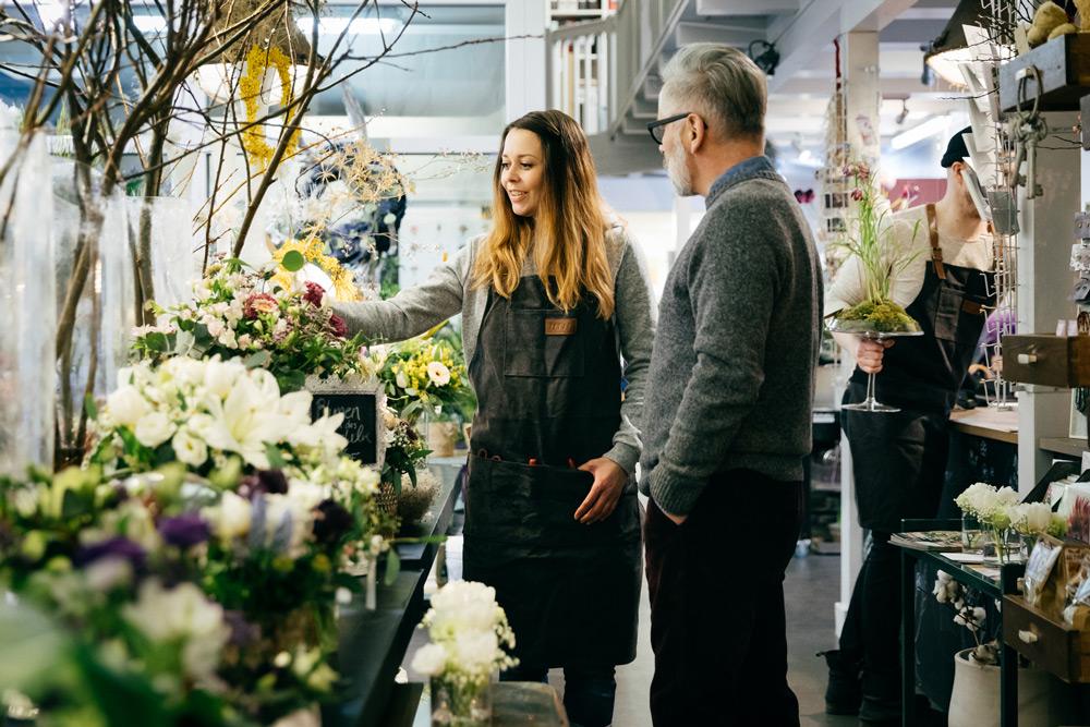 Blumenladen Blumenverkauf